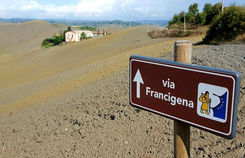 Luca Magliozzi Via Francigena