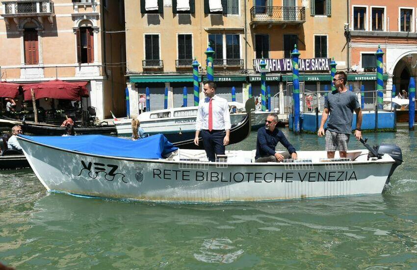 Una nuova barca per la Rete Biblioteche del Comune di Venezia