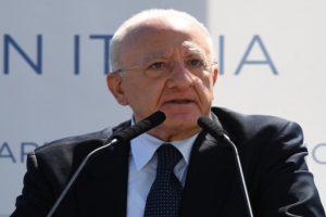 La Corte dei Conti cita De Luca per sperpero di denaro pubblico, chiesti oltre 400mila euro di danno