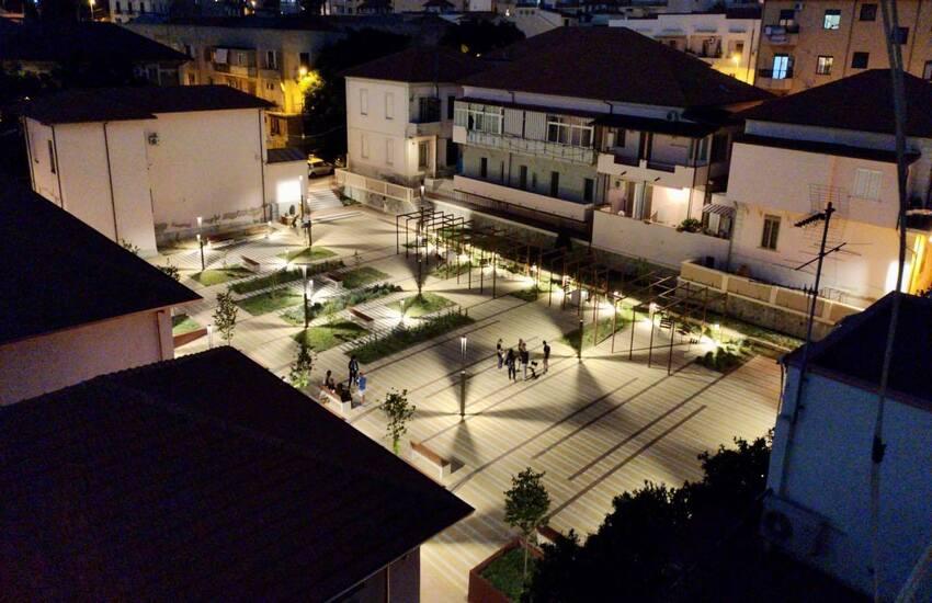 Inaugurata a Reggio la piazza di Tremulini