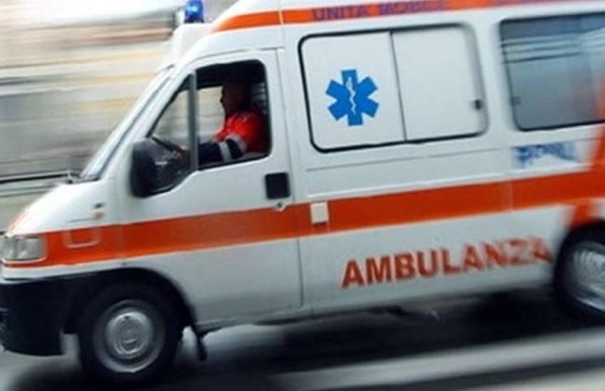 Brutto incidente ad Alatri, sul posto 118, carabinieri e stradale