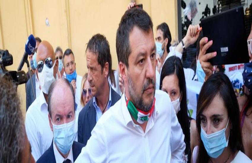 Probabile visita di Salvini ai volontari di  Stremao sabato 25 luglio