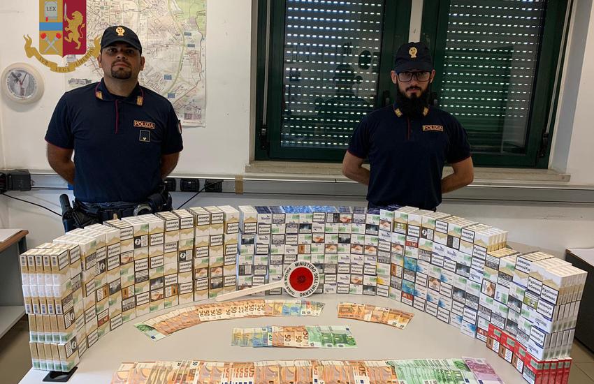 Milano, 800 pacchi di sigarette in un pulmino, arrestato contrabbandiere ucraino