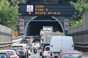 Autostrade rinvia i lavori di manutenzione sulla A7 al 15 febbraio