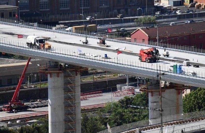 nuovo ponte di Genova - collaudo