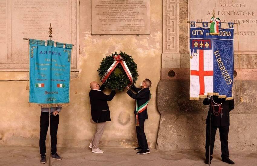 77esimo anniversario della caduta del fascismo Bologna