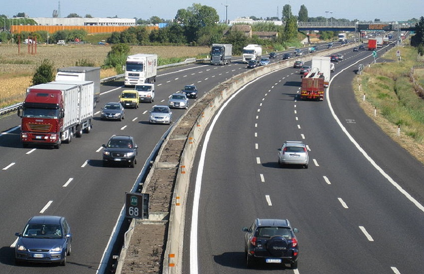 Chiude il tratto autostradale Cava de' Tirreni-Salerno: date ed orari