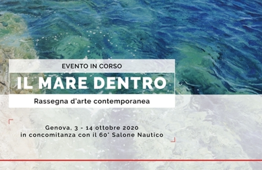 """""""Il mare dentro"""", rassegna d'arte dal 3 al 14 ottobre: iscrizioni fino al 25 luglio"""