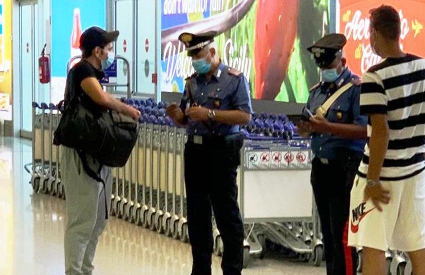 Catania, Ruba un trolley al ritiro bagagli dell'aeroporto, denunciata una niscemese