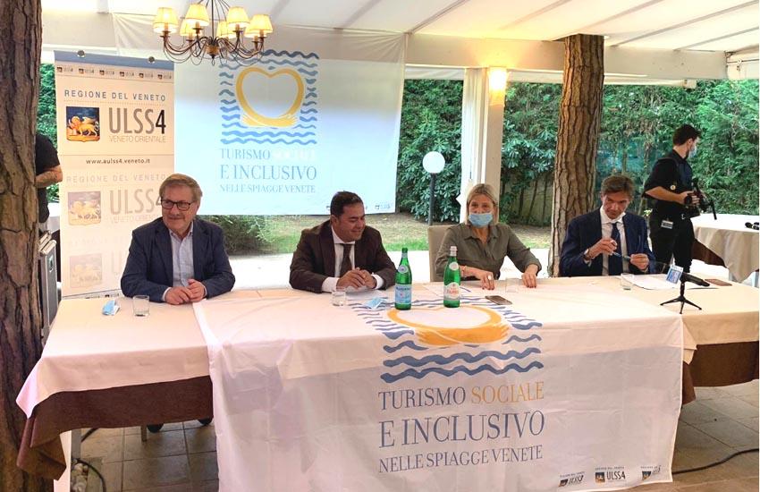 """Sono 12, e altri si aggiungeranno nei prossimi giorni, i protagonisti del progetto """"turismo sociale de inclusivo"""" 2020 che si snoda sul litorale Veneziano"""