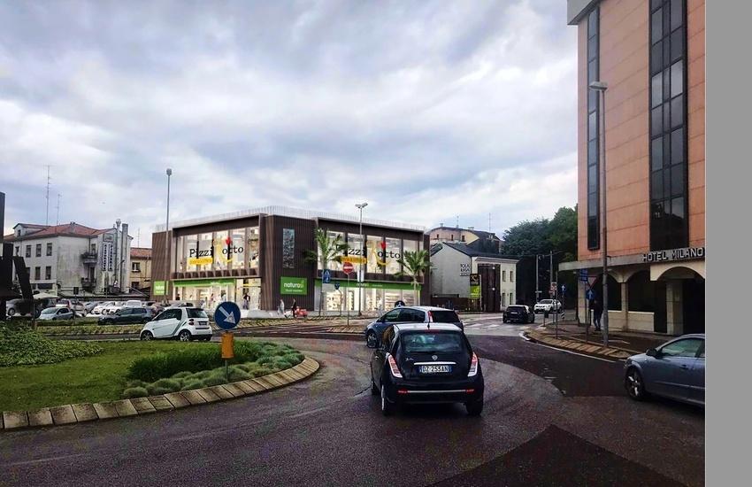 Padova, riqualificazione Area Vescovi Caffè con attività commerciali