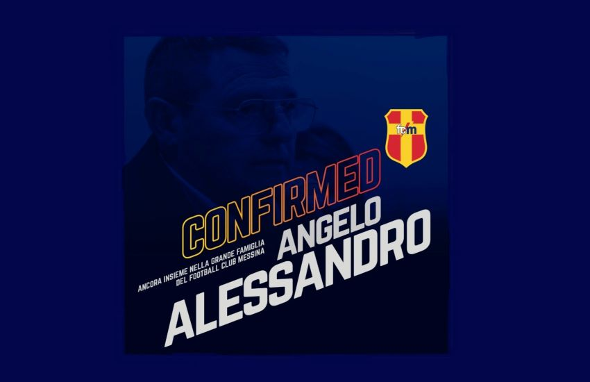 FC Messina: Angelo Alessandro al timone del Settore Giovanile