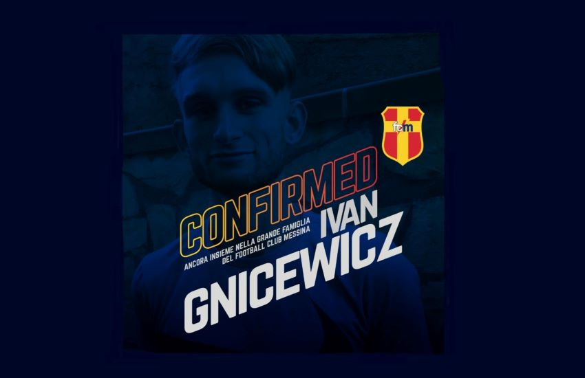 FC Messina, riecco Ivan Gnicewicz