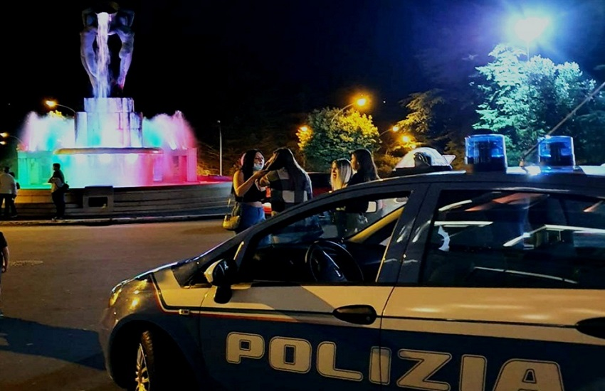 Zona del Castello, movida: arrestato giovane spacciatore