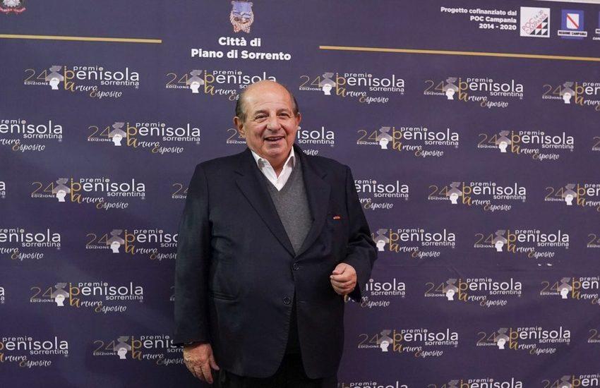 Anche Giancarlo Magalli al Premio Penisola Sorrentina