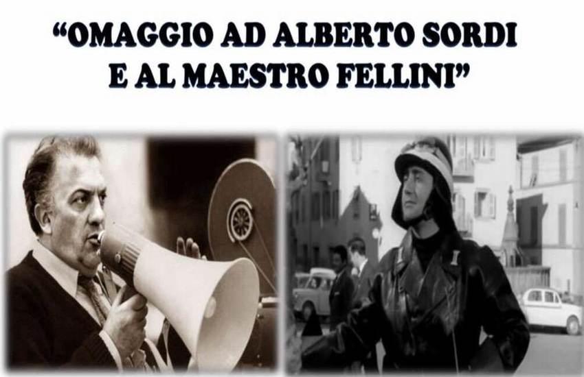 Ferento, omaggio Sordi e Fellini