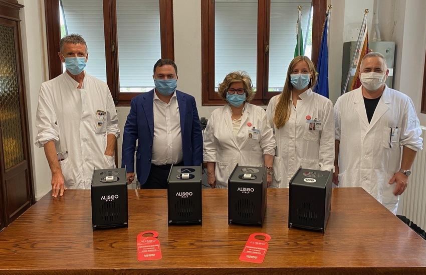 AVO DONA GENERATORI DI OZONO ALL'ULSS4