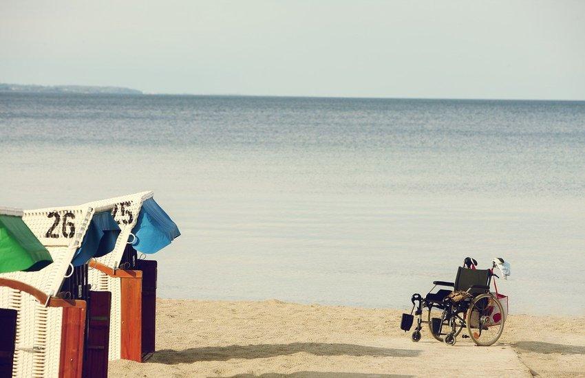Lido per disabili a Miseno, primo in Campania e tra i pochi in Italia