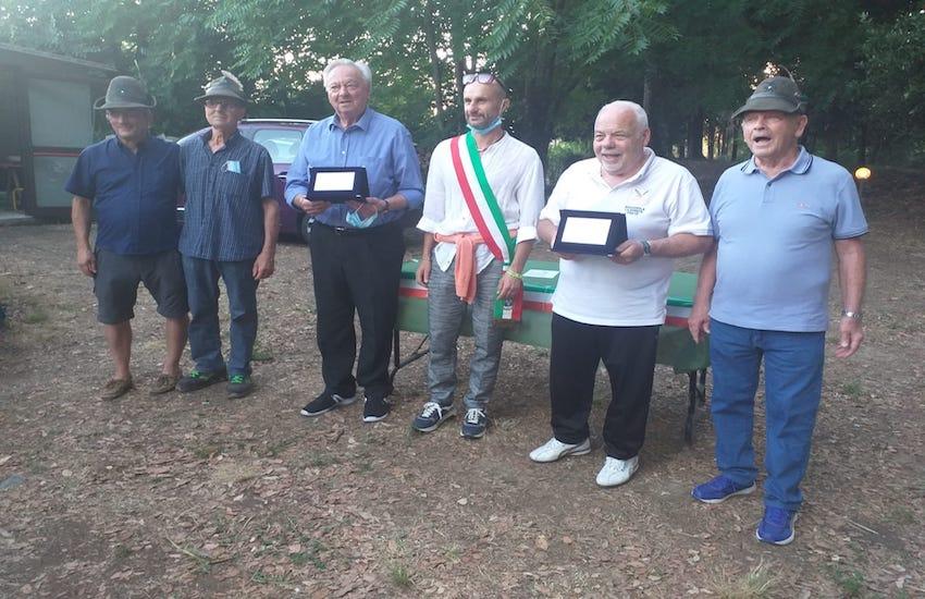 Giovanni Mazzanti  ha vinto  il  torneo di bocce degli Alpini