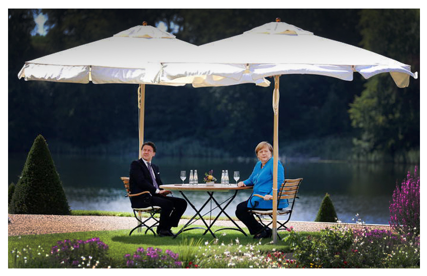 Merkel: 'Le opinioni sono ancora in parte divergenti ma penso che arriveremo ad un accordo'