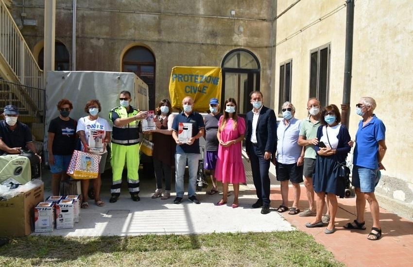 Avis dona generatori e pompe idrauliche alla Protezione Civile di Pellestrina