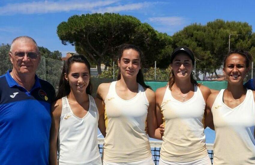 Tennis, playoff per serie A2: ottimo pareggio del Plebiscito a Piombino