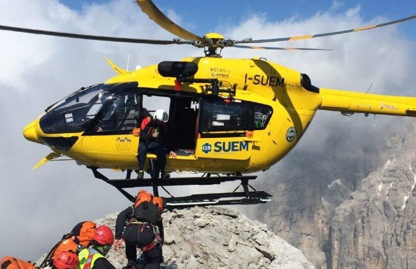 Cadore, escursionista padovano perde l'orientamento: salvato dal soccorso alpino