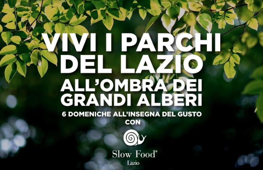 Al via il festival ecogastronomico itinerante nei parchi del Lazio