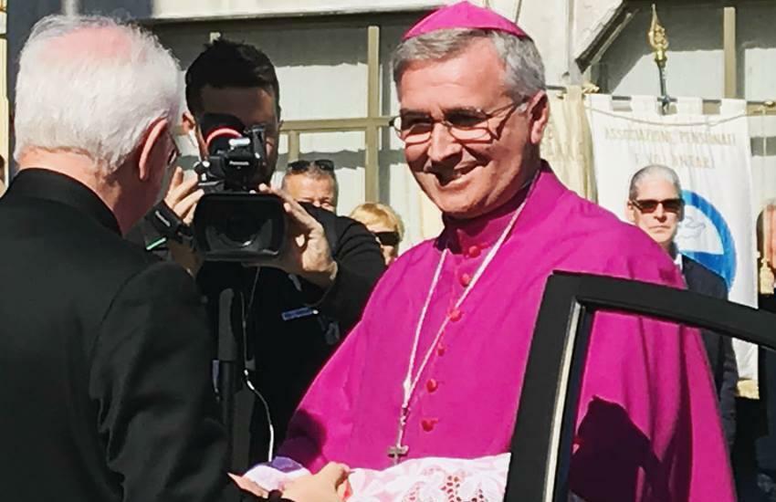 Il Vescovo Pierantonio inizia le visite ai Centri Estivi degli oratori