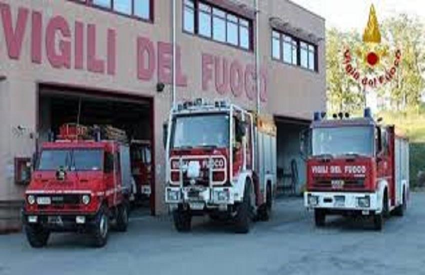 Vigili del fuoco operativi anche ad Agropoli
