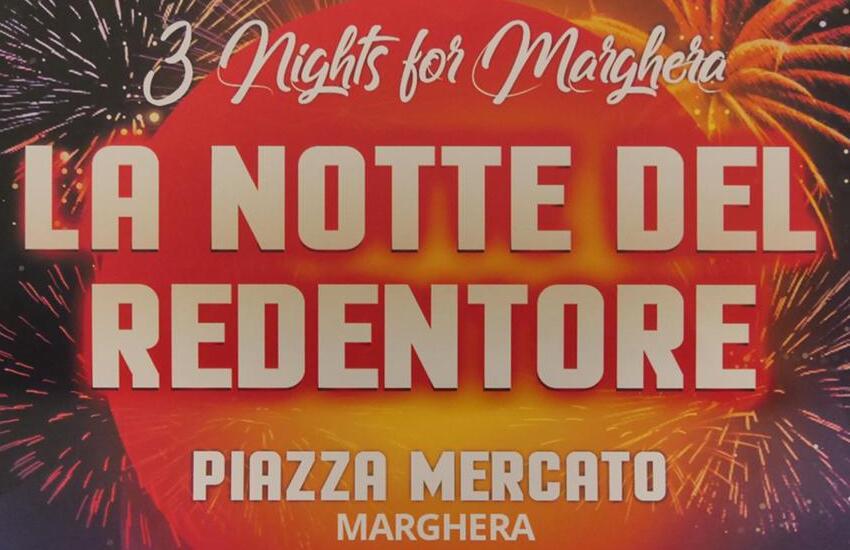 "Parte ""3 nights for Marghera – Uniti insieme per la ripresa"""