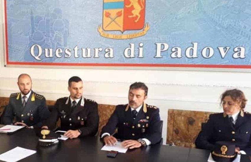 Padova, maxi blitz delle forze dell'ordine in via Bernina: sequestrata droga e controllati circoli pubblici