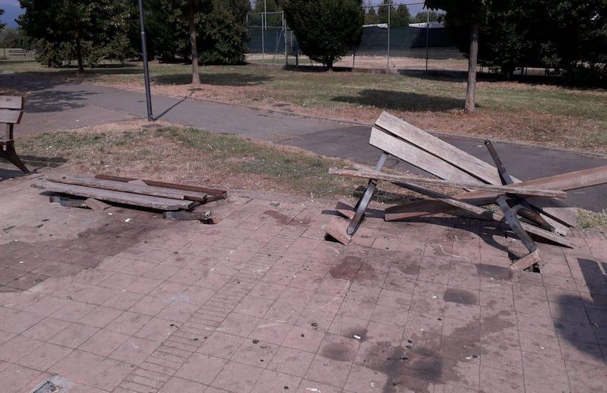 """Atti vandalici ai giardini di San Giorgio. Sanzò: """"Troveremo i responsabili"""""""