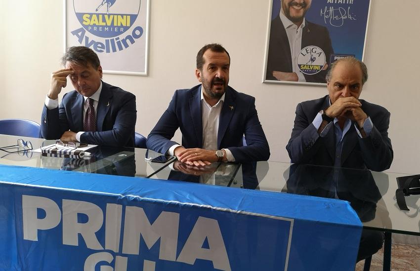 Avellino – Regionali: la Lega ha deciso, candidati: Cusano, Vecchia, D'Agostino e De Stefano. Ieri la riunione con Molteri