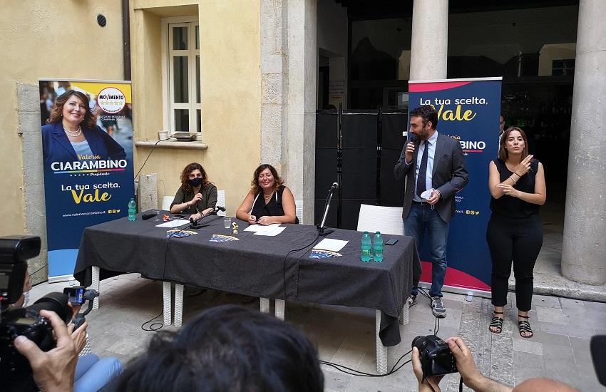 Benevento – Regionali, Ciarambino (M5S) attacca: nel Sannio per rievocare il sogno delle Forche Caudine