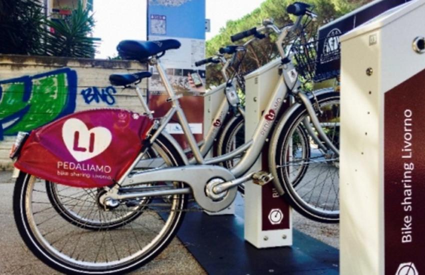 Bike sharing gratuito in tutta la città di Livorno