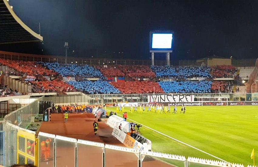 Calcio Catania, 6 positivi nella Vibonese, rinviata partita a mercoledì 18 novembre