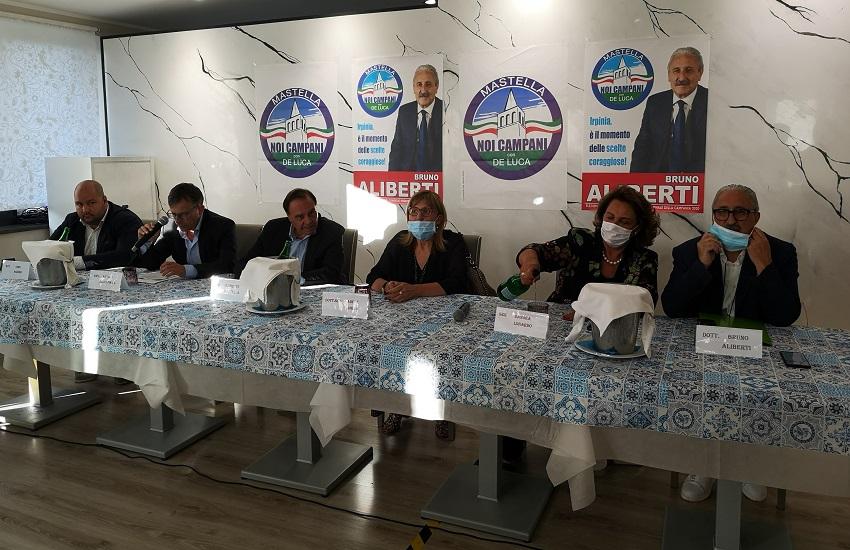 """Castelfranci – Regionali, """"Noi campani"""" in alta Irpinia: ripartire dalla sanità e dalle eccellenze locali"""