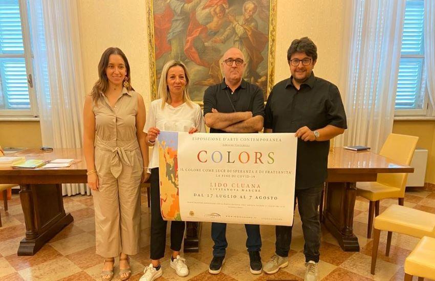 Colors, apre a Civitanova la mostra di Venturelli