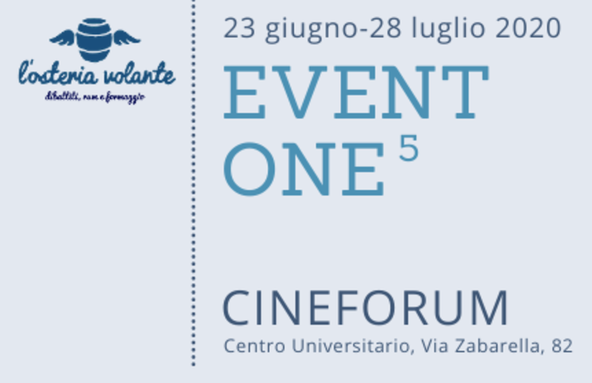Padova, Festival Eventone: 6 film cineforum all'aperto