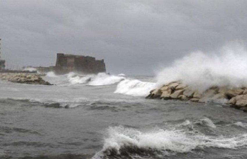 Allerta meteo, forti precipitazioni nel weekend in Campania