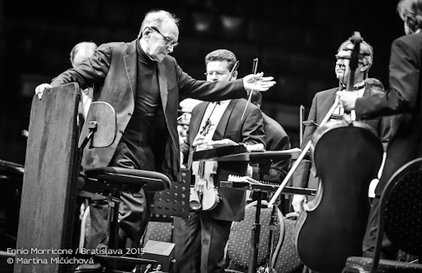 Ennio Morricone, la sua musica a volo di gabbiano