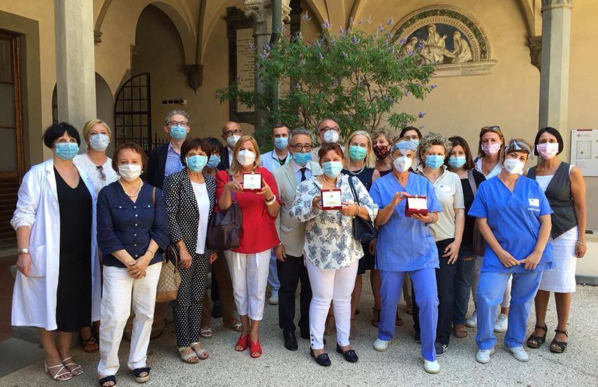 Fiorino d'Oro, dedica agli operatori sanitari di Firenze
