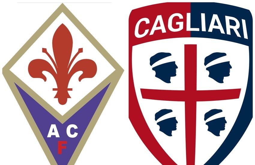 Mercoledì al Franchi la partita Fiorentina-Cagliari