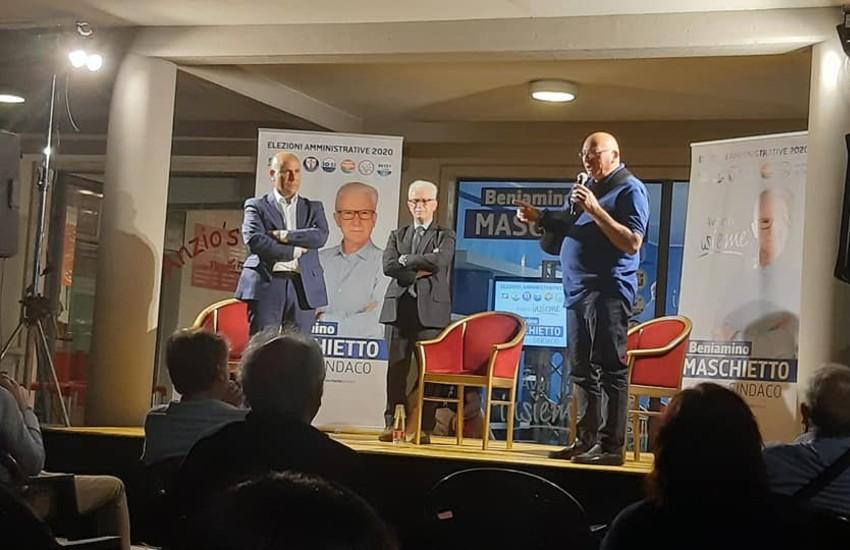 Centro destra compatto a sostegno della candidatura a sindaco di Maschietto a Fondi