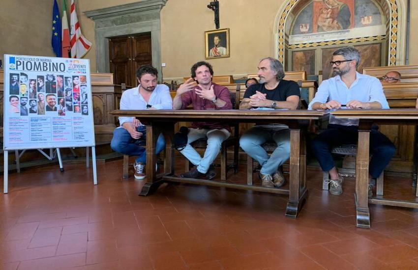 20Eventi, tanti ospiti d'eccezione per il festival culturale dell'estate a Piombino