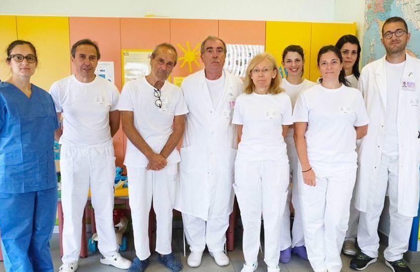L'equipe nefrologica dell'Istituto Giannina Gaslini di Genova