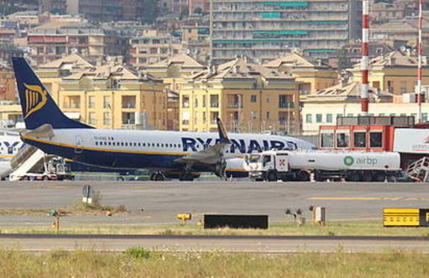 Genova, primo volo internazionale, dopo il lockdown, al Colombo