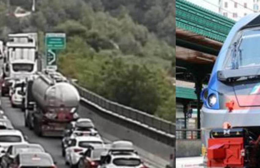 auto e treni in tilt