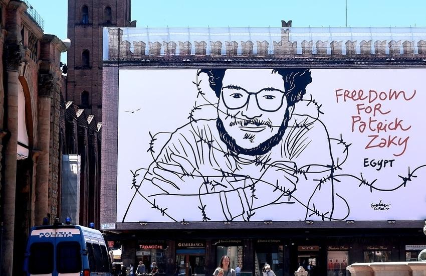 Il ricercatore Patrick Zaki ora cittadino onorario della città di Bologna